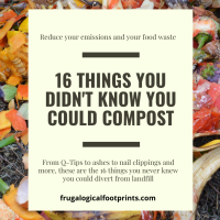 16 Things You Didn't Know You Could Compost