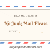 Stop Junk Mail with this Nifty Free Printable